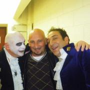 Avec Dany Lary et Copain