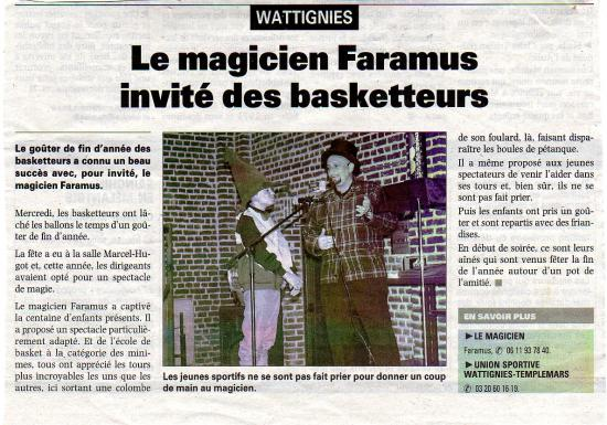article de presse de cuincy